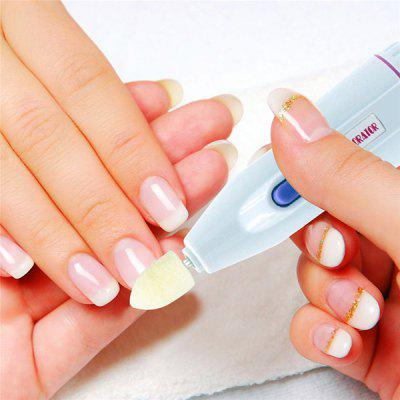 Electric 5 in 1 Nail Decorator Polishing Shaping Manicure Set