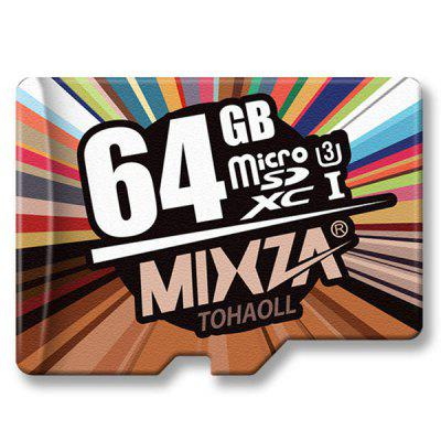MIXZA TOHAOLL U3 High Speed Micro SD Memory Card 64GB