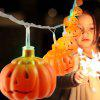 221 - 1A Pumpkin Style LED String Light - HALLOWEEN ORANGE