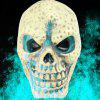 777 - 4 Static Small Skull Head Funny Toy - WHITE