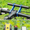 Bicycle Handlebar Extender Extended Bracket Phone Watch Lamp Holder for Mountain Bike - BLACK