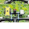 Bicycle Handlebar Extender Extended Bracket Phone Watch Lamp Holder for Mountain Bike - ROYAL BLUE