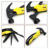 Multi-function Portable Hammer Pliers Tool - SCHOOL BUS YELLOW