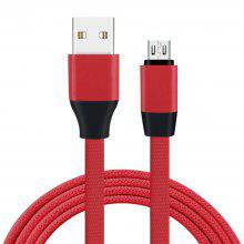 1m Aluminium Alloy Data Cable for Android