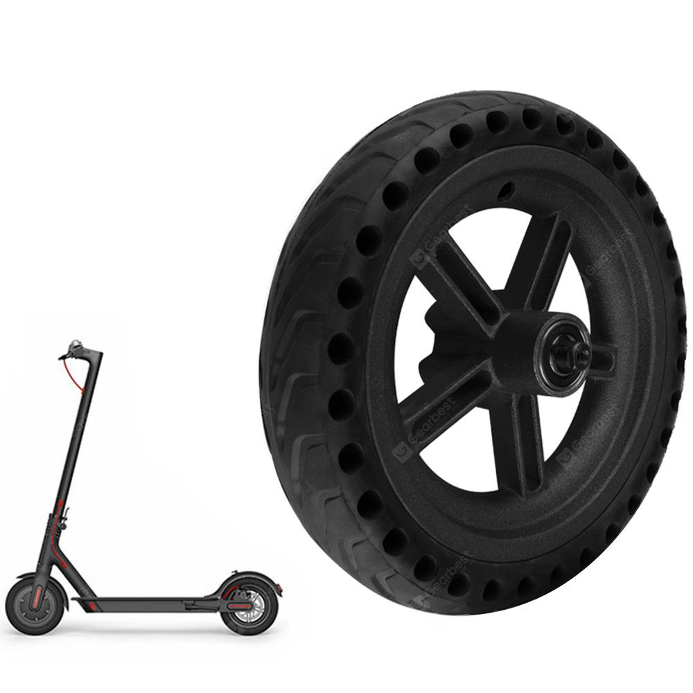 Wheel Hub / Explosion-proof Tire Set - BLACK  for Xiaomi M365 Scooter