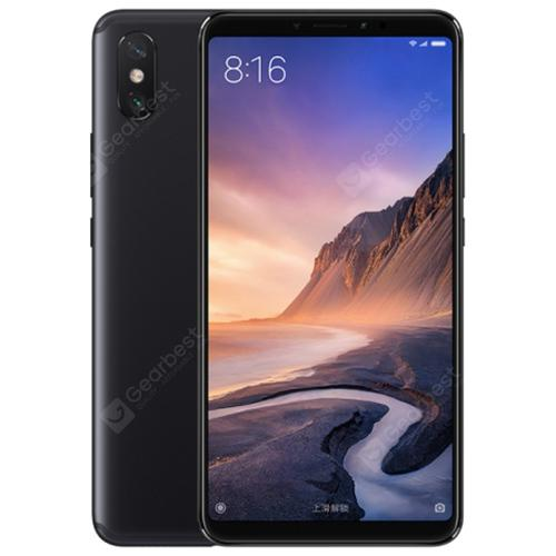Xiaomi Mi Max 3 4G Phablet Global Version - BLACK  4+64Go