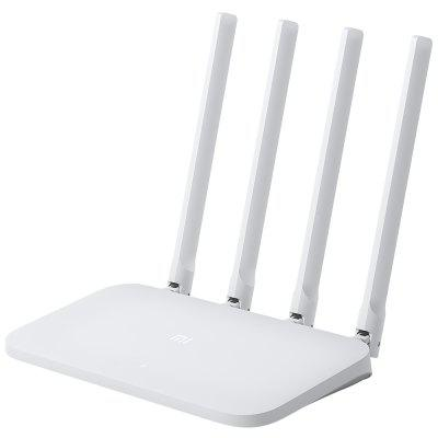 Gearbest Original Xiaomi Mi 4C Wireless Router 2.4GHz / 300Mbps / Four Antennas - WHITE