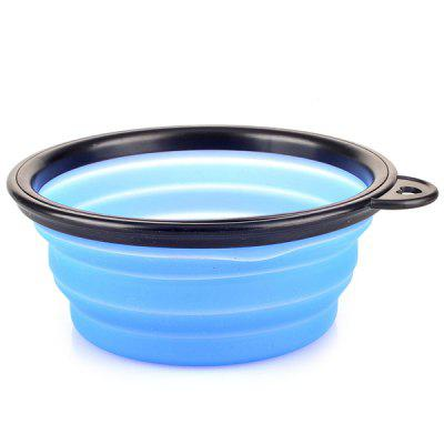 Sports de plein air Portable TPE Pliant Pet Bowl