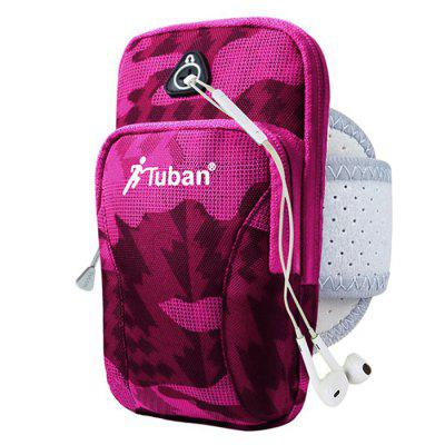Tuban Oxford Cloth Sports Arm Bag for Exercising