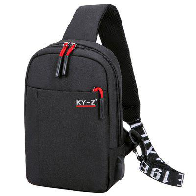 Fashion Multifunction Man Chest Bag