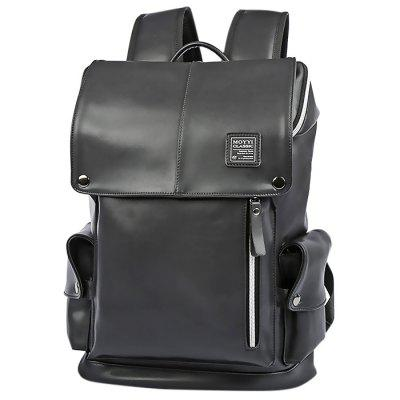PU Leather Man Fashion Backpack