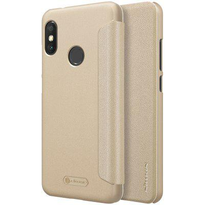 NILLKIN Simple PU Leather Phone Case for Xiaomi A2 Lite