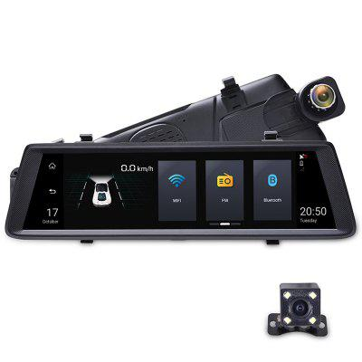Junsun A900 Car DVR Camera Mirror 3G 10 inch Full Touch