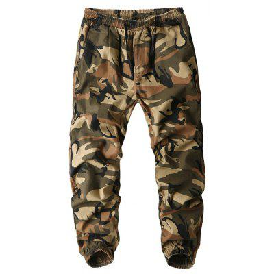 Men Outdoor Camouflage Casual Work Cotton Cargo Pants