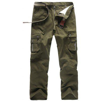 Men Outdoor Stylish Casual Work Cotton Cargo Pants