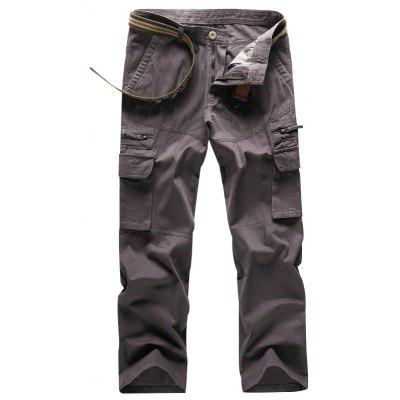 Men Outdoor Casual Work Cotton Cargo Pants
