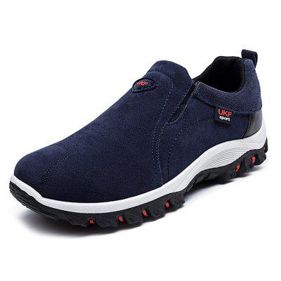 PU Leather Casual Sneakers for Men