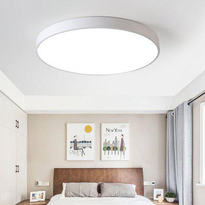 Utorch Smart Voice Control LED Ceiling Light 18W AC 220V - WHITE 30CM from Gearbest