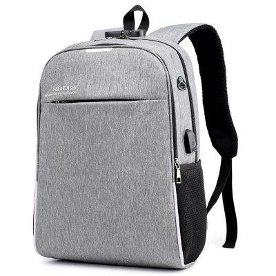 Anti-theft USB Port Multifunction Backpack