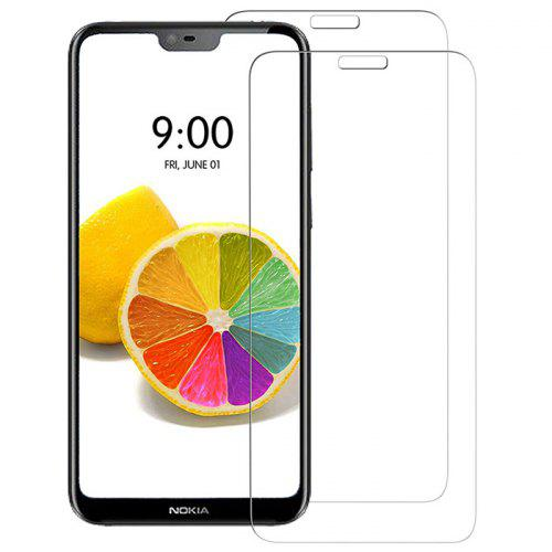Naxtop Tempered Glass Screen Protector for Nokia 6.1 Plus / Nokia X6