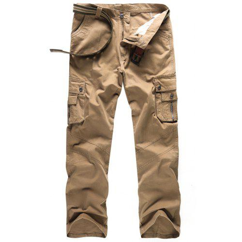 """Mens Cargo Combat Plain Trouser inside Leg 29/"""" and 32/"""" Inches Waist 28 to 64"""