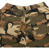 Men Outdoor Camouflage Casual Work Cotton Cargo Pants - WOODLAND CAMOUFLAGE