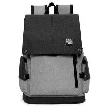 Fashionable Cotton Linen Man Backpack