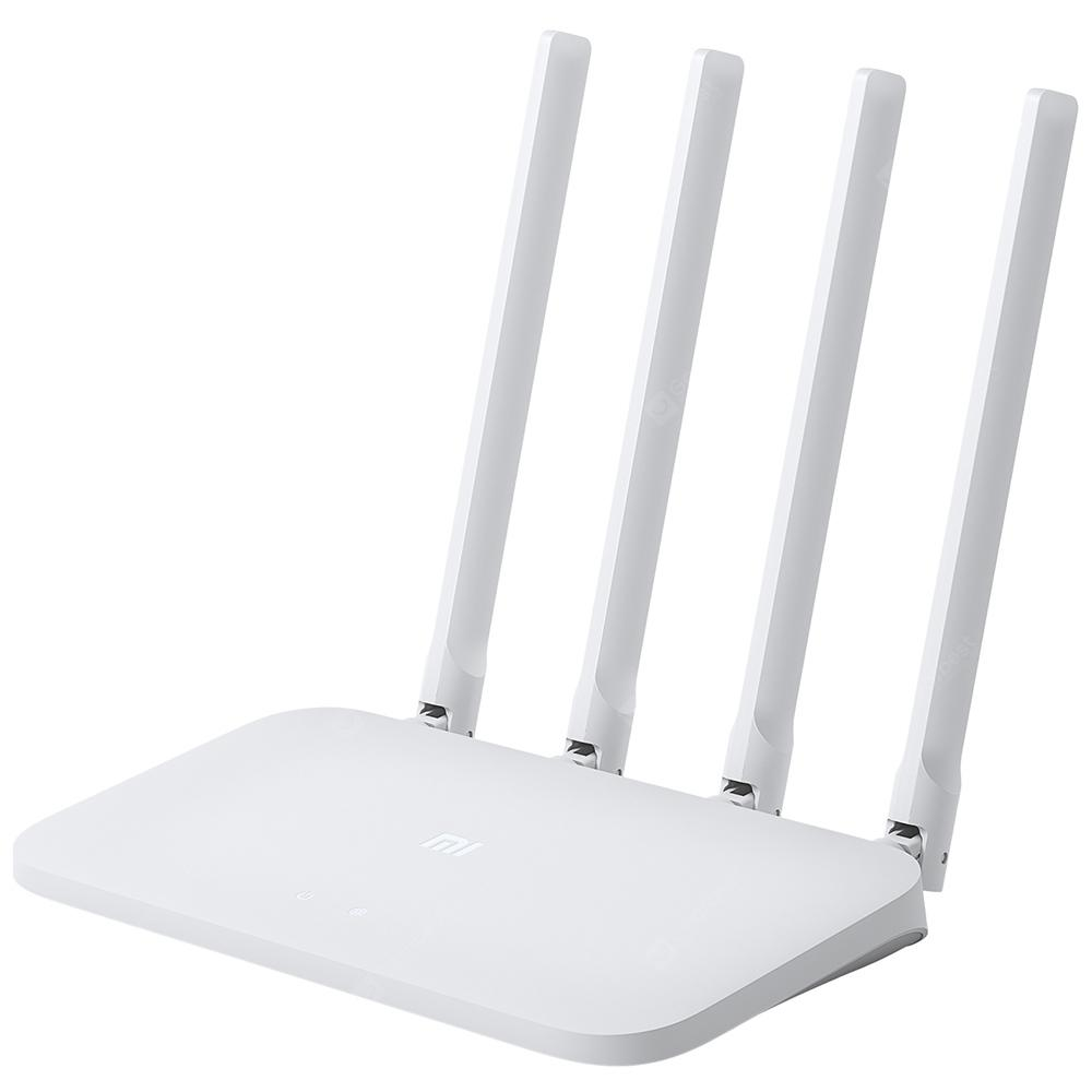 Original Xiaomi Mi 4C Wireless Router 2.4GHz / 300Mbps / Four Antennas - WHITE