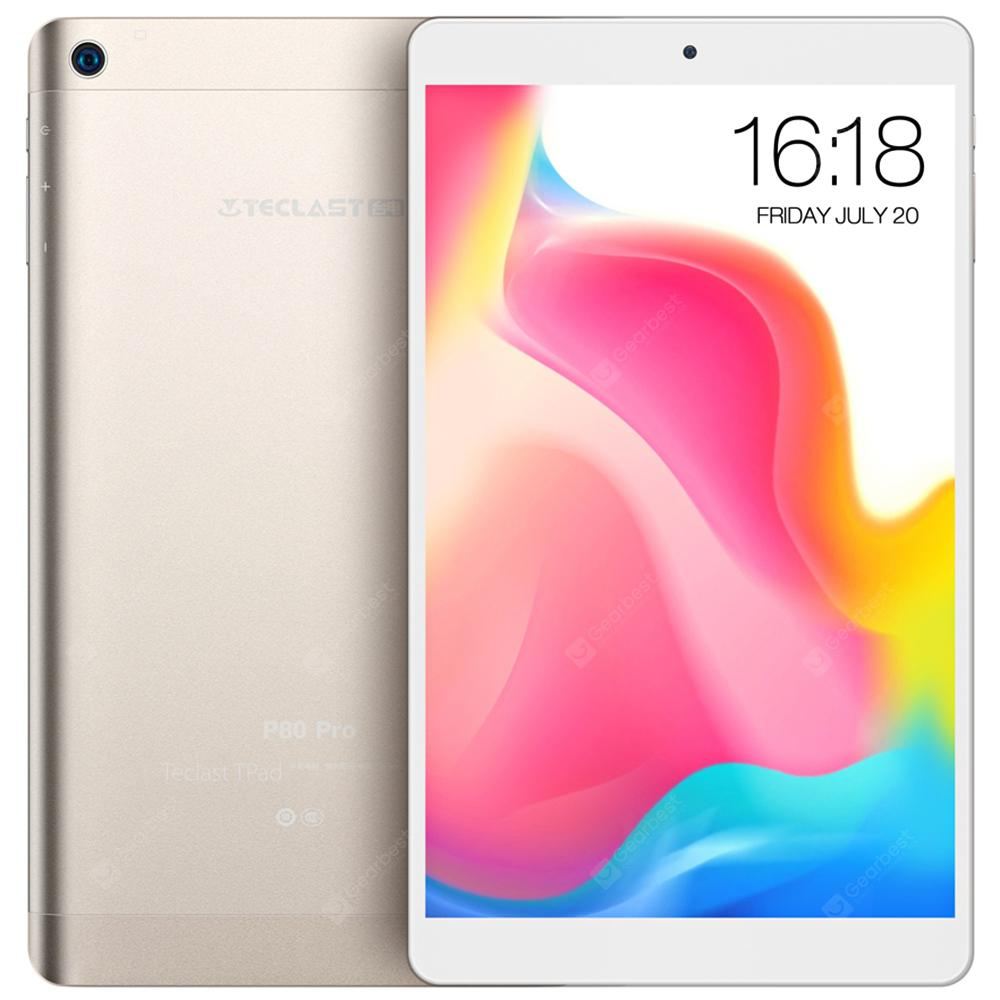 Teclast P80 Pro Tablet PC - HAMPAGNE 32GB 8.0 inch Android 7.0 MTK8163