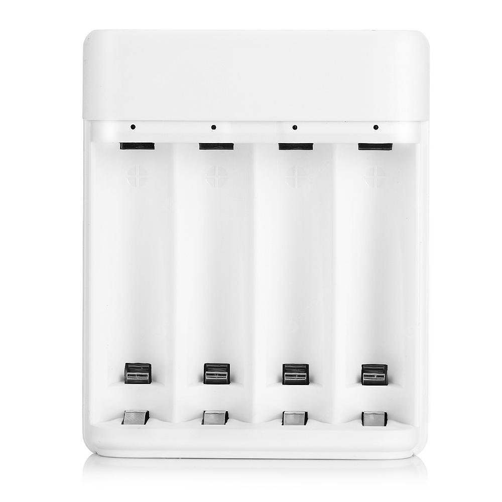 ZMI Four-slot Battery Charger from Xiaomi Youpin - MILK WHITE