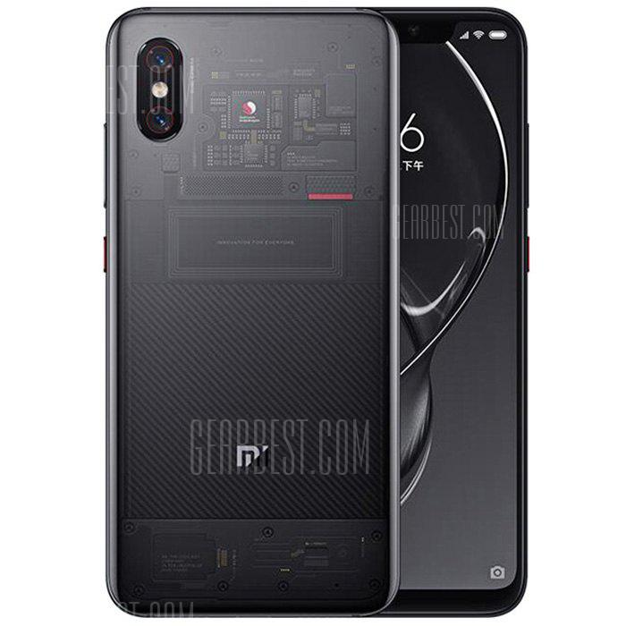 Xiaomi Mi 8 4G Phablet Transparent Adventure Edition - DARK GRAY 8+128GO