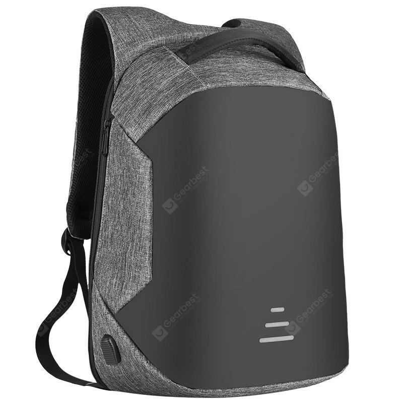 SWEETTOURIST Men Business Durable Anti-theft Backpack - SLATE GRAY from Gearbest Image
