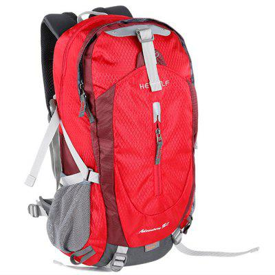 HEWOLF Breathable Professional 38L Backpack for Hiking and Travel