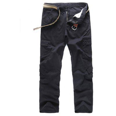 Casual Wear Resistant Cotton Work Pants for Men