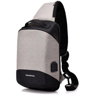 Multifunction USB Port Chest Bag