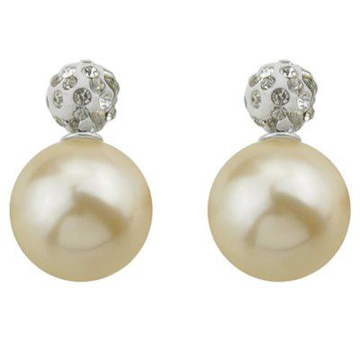 Фото - ER - 5773 Artificial Pearl Double-sided Stud Earrings mantra 5773