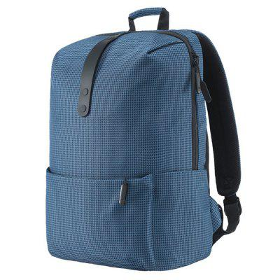 Review Xiaomi Stylish Plaid Water-resistant School Laptop Backpack 4a6d1c641516a