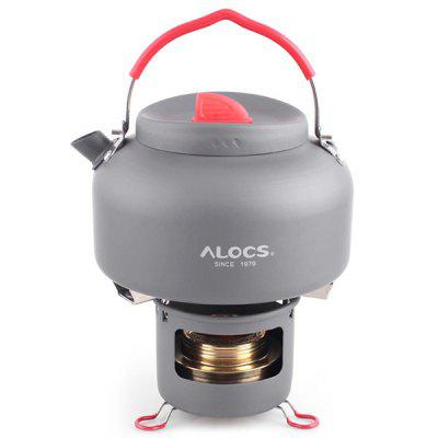 ALOCS Outdoor Kettle Portable Water Teapot