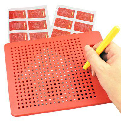 Children Magnetic Drawing Board Steel Ball Educational Toy children s participation in khat production educational implications