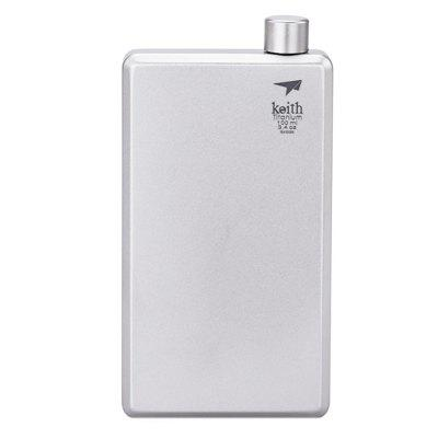 Keith Ti9306 Outdoor 100ml Portable Hip Flask Water Bottle