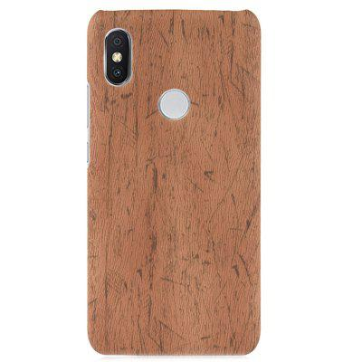 ASLING Wooden Texture Protective Phone Case for Xiaomi Mi A2 Lite