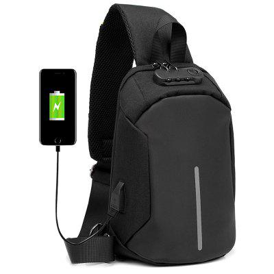 Anti-theft Unissex Multifunction Backpack