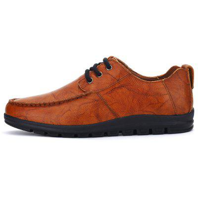 Spring Business Soft Leather Shoes for Man