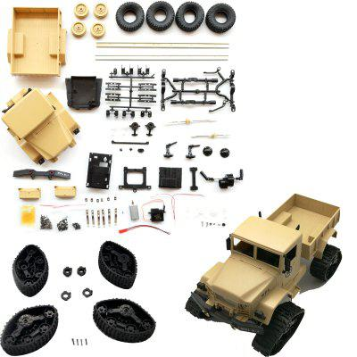 WPL B14KL DIY RC Military Truck Model Toy Kit