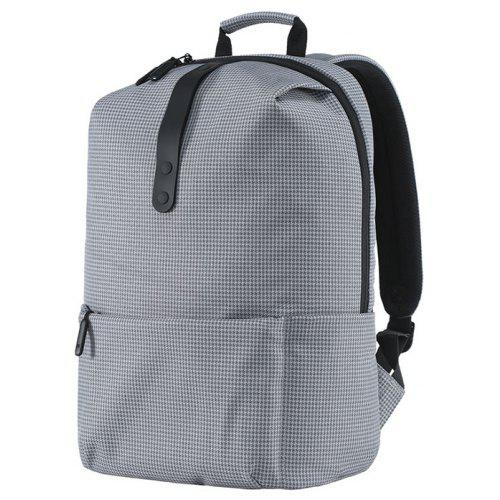 Xiaomi Stylish Plaid Water-resistant School Laptop Backpack -  34.52 Free  Shipping 90379598ad7d5