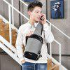 Multifunction USB Port Chest Bag - LIGHT GRAY