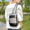 Casual Polyester Chest Bag - GRIS CLAIR
