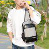 Casual Polyester Chest Bag - GRIS CLARO