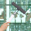 Window Glass Squeegee Water Spray Wiper Car Cleaning Brush - BLUE GRAY