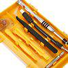 110-in-1 Precision Screwdriver Tool Set - YELLOW